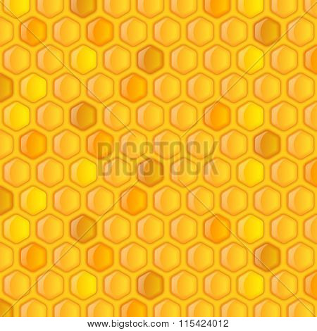 Honeycombs Background