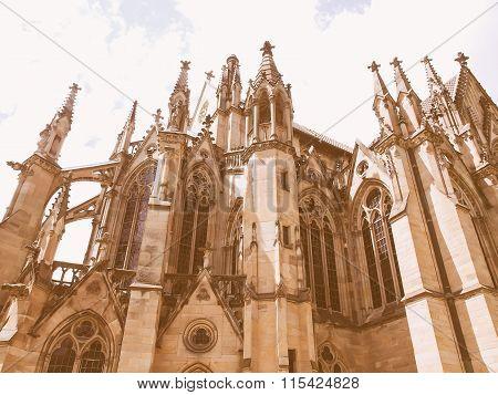 Johanneskirche Church Stuttgart Vintage