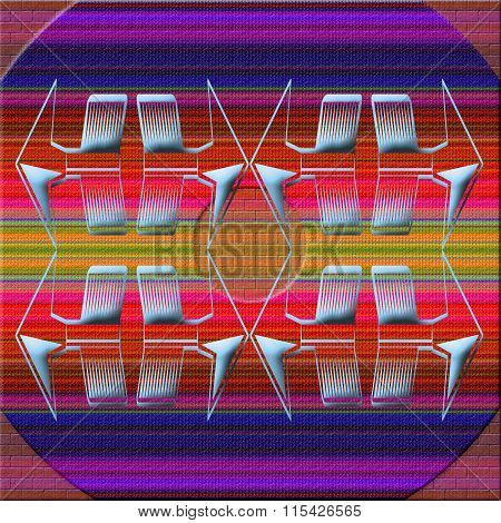 Color Graphic Pattern.