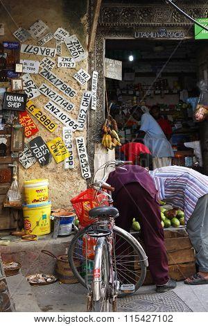 Stone Town. Tanzania