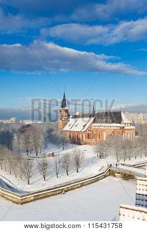 Cathedral In Winter