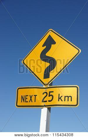 Windy road ahead