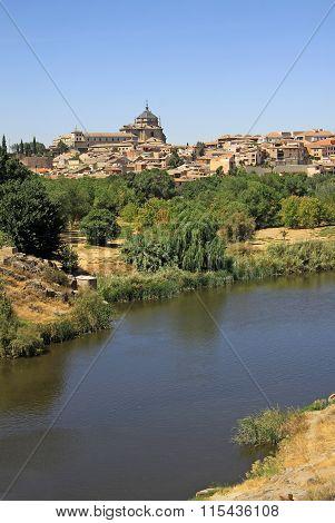 Toledo, Spain -  View To River Tajo In Toledo, Spain
