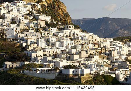 Chora, the capital of Skyros island