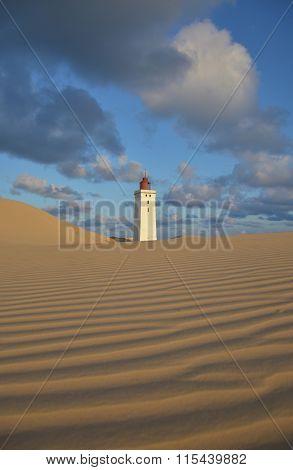 Lighthouse at Rubjerg Knude, Denmark