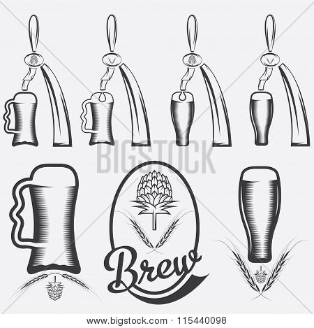Vintage Collection Of Beer And Beer Dispensers