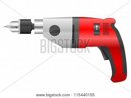 Electric Drill And Bit