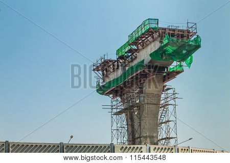 Express Way Construction Site
