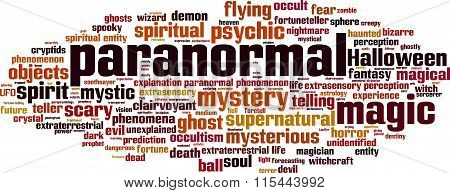 Paranormal Word Cloud