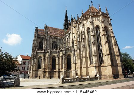 Cathedral In Kosice City.