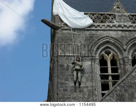 Normandy D-Day Paratrooper Effigy