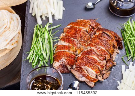 Peking Duck with vegetable