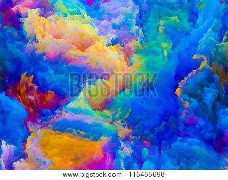 Virtual Life Of Colors