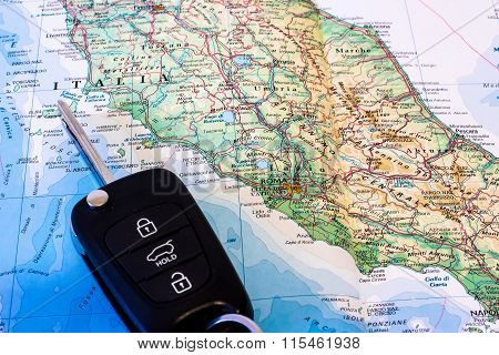 Planning Road Trip In Italy