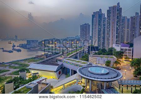Hong Hong Public Estate building
