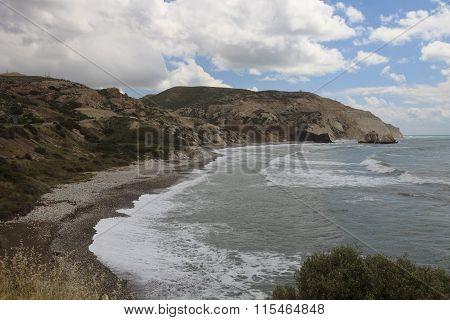 Wildlife Cyprus. View Aphrodite's Rock