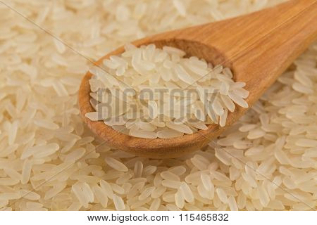 Rice In Spoon