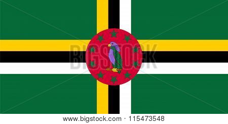 Standard Proportions For Dominica Flag