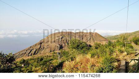 Monte Preto And It's Volcano