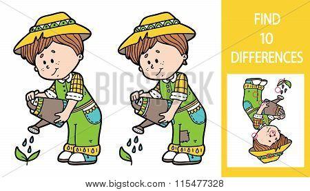 Find differences gardener