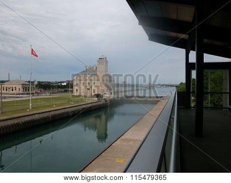 Sault Sainte Marie lock