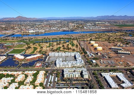 Tempe Town Lake North View