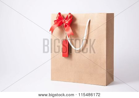 Isolated Shopping Bag