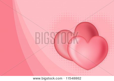 Abstract Background Of ç By Two Hearts