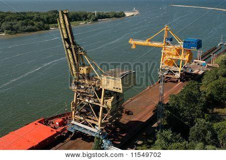 Swinoujscie port, Poland