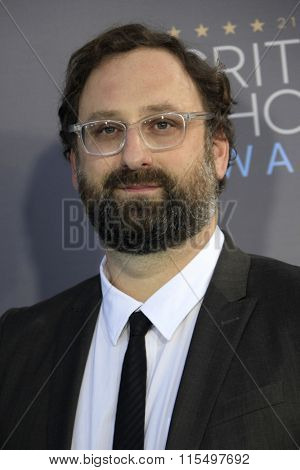 LOS ANGELES - JAN 17:  Eric Wareheim at the 21st Annual Critics Choice Awards at the Barker Hanger on January 17, 2016 in Santa Monica, CA