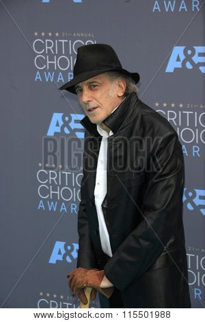 LOS ANGELES - JAN 17:  Edward Lachman at the 21st Annual Critics Choice Awards at the Barker Hanger on January 17, 2016 in Santa Monica, CA