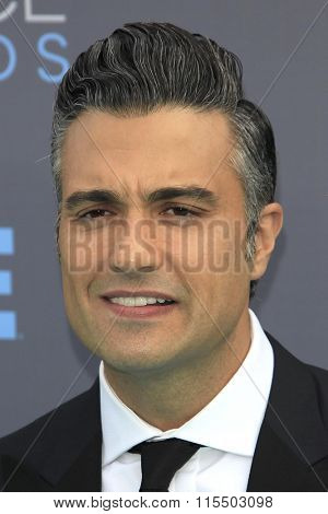 LOS ANGELES - JAN 17:  Jaime Camil at the 21st Annual Critics Choice Awards at the Barker Hanger on January 17, 2016 in Santa Monica, CA