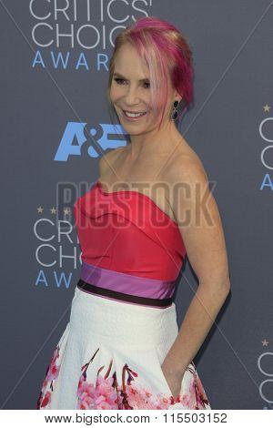 LOS ANGELES - JAN 17:  Marti Noxon at the 21st Annual Critics Choice Awards at the Barker Hanger on January 17, 2016 in Santa Monica, CA