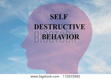 Self Destructive Behavior Concept