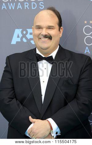 LOS ANGELES - JAN 17:  Mel Rodriguez at the 21st Annual Critics Choice Awards at the Barker Hanger on January 17, 2016 in Santa Monica, CA