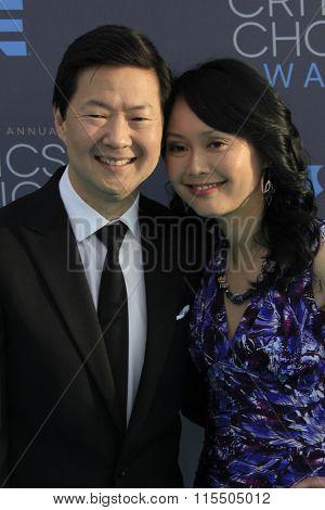 LOS ANGELES - JAN 17:  Ken Jeong at the 21st Annual Critics Choice Awards at the Barker Hanger on January 17, 2016 in Santa Monica, CA