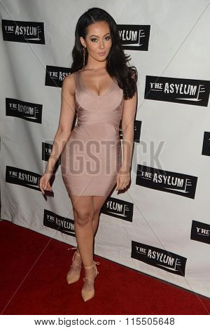 LOS ANGELES - JAN 18:  Ashley Doris at the Little Dead Rotting Hood Premiere at the Laemmle NoHo 7 on January 18, 2016 in North Hollywood, CA
