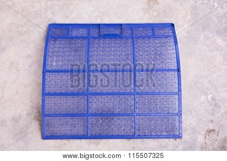 Washing Air Conditioner Filter
