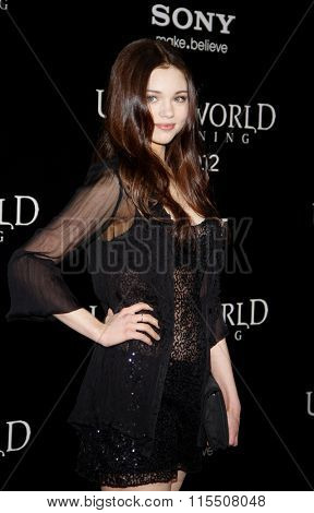 India Eisley at the Los Angeles Premiere of