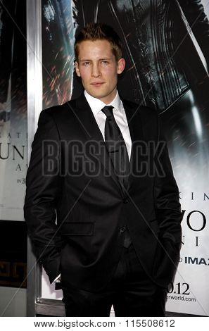 Jacob Blair at the Los Angeles Premiere of