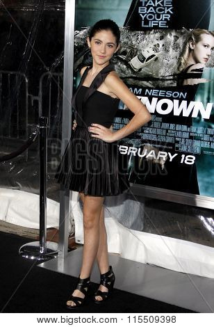 Isabelle Fuhrman at the Los Angeles Premiere of
