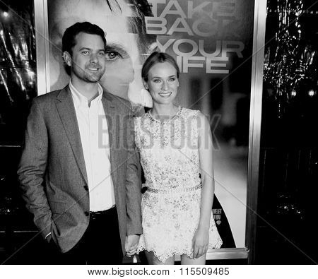 Joshua Jackson and Diane Kruger at the Los Angeles Premiere of