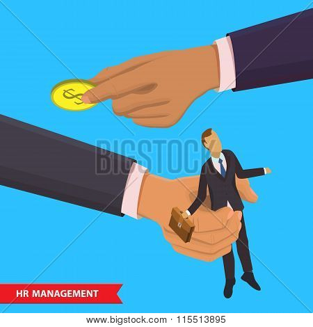 HR management illustration