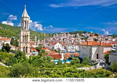 Historic Mediterranean Town Of Hvar
