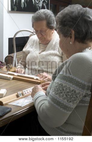 Playing Mah-Jong