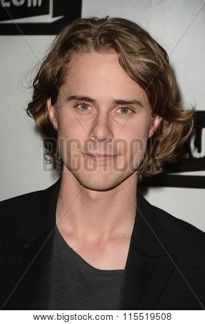 LOS ANGELES - JAN 18:  Baker Chase Powell at the Little Dead Rotting Hood Premiere at the Laemmle NoHo 7 on January 18, 2016 in North Hollywood, CA