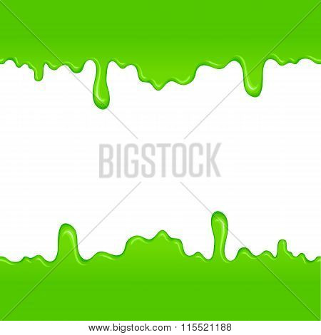 Green slime pattern