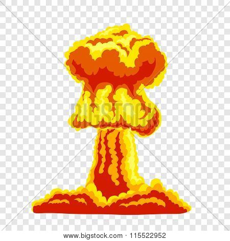 Mushroom cloud sign