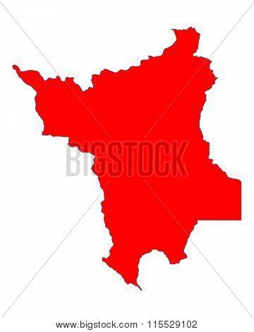 Map Of Roraima