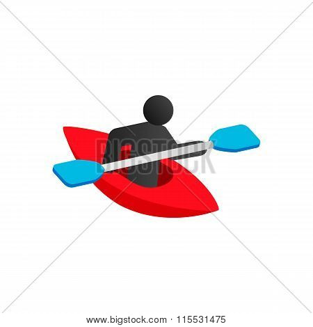Kayak isometric 3d icon